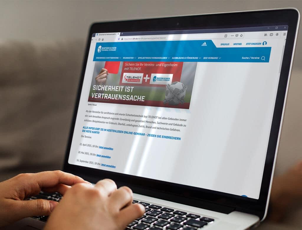 Vorschau BFV Webinare Telenot
